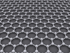 Graphene, a single layer of carbon atoms organised in a hexagonal pattern, is strong, conducts electricity and heat very well. Since it is one atomic layer, these properties can be used in many applications.