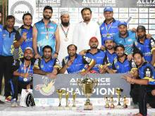Chemietech win Alliance T20 league title