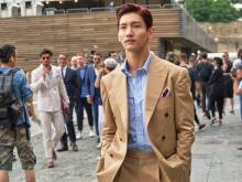 TVXQ!'s Changmin makes fashion impact