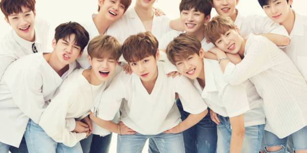 Wanna One is the new face of Reebok in Asia