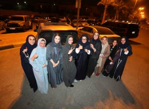 Pictures: Ban lifted on Saudi women drivers