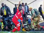Zimbabwe rules out delaying polls after blast