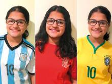 Dubai girl sings song for each World Cup team