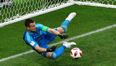 Pictures: Russia stun Spain on penalties