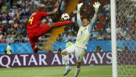 FIFA 2018: Belgium stun Japan to reach quarters