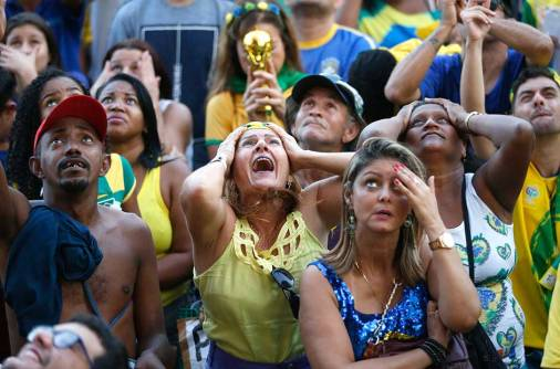 How do you deal with Brazil's loss?