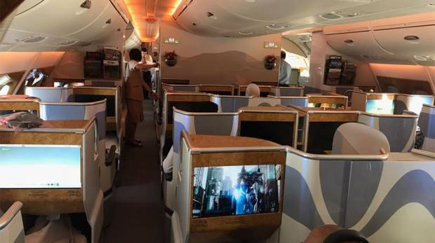 Emirates' special A380 one-off flight to Islamabad