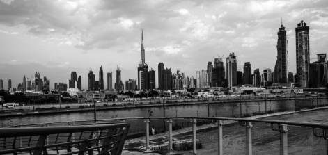 Dubai in monochrome