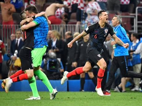 Croatia beat England to make World Cup final