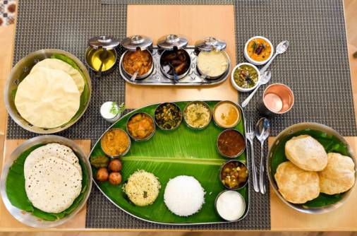 In praise of Andhra thali you can find in Dubai