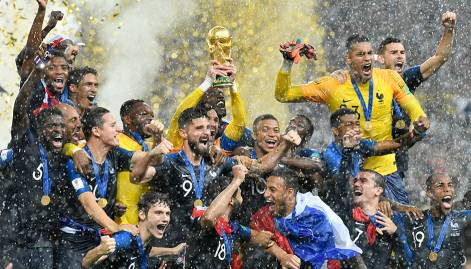 France overpower Croatia 4-2 in World Cup final