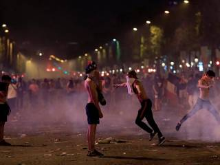 World Cup celebrations turn violent