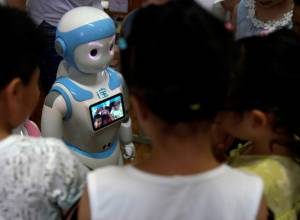iPal-A robot companion for kids and the elderly