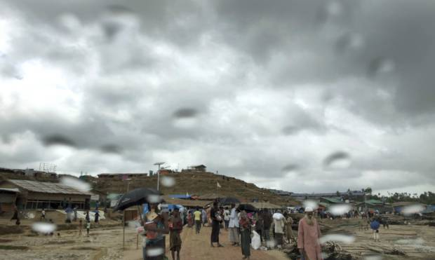 Rohingya refugees at risk of monsoon misery