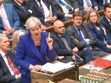May presses on with much-criticised Brexit plan