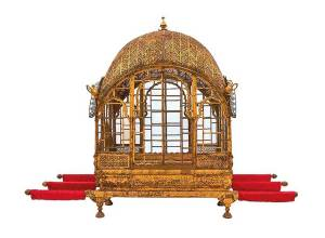 A rare look at Indian art and a royal court