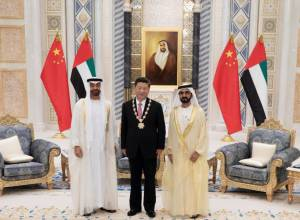 Chinese President's UAE visit in pictures