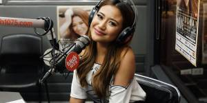 A cosy live video chat with singer Morissette