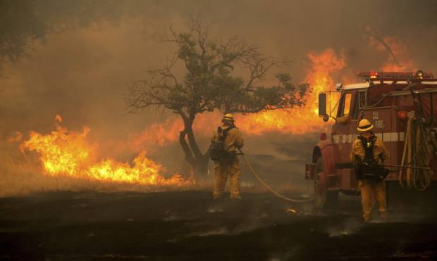 Carr Fire in California continues to Burn
