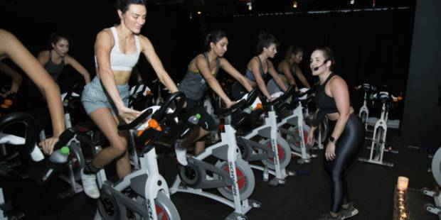 Staying Fit: Moving to music at Motion Cycling