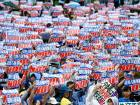 Thousands rally for removal of US base in Japan