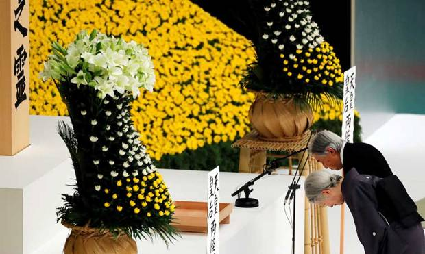 Japan marks 73rd anniversary of WWII surrender