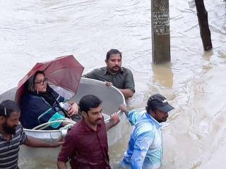 Kerala flood: Death toll reaches 87