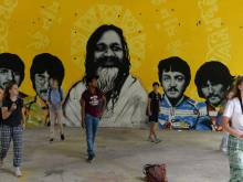 Beatles' Indian ashram to rise from ashes