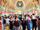 People walk in a market in Istanbul on August 13. Turkey's central bank announced a series of measures on Monday to free up cash for banks as the country grapples with a currency crisis.