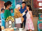 Michelle Yeoh, Gemma Chan, Henry Golding and Constance Wu in 'Crazy Rich Asians'.