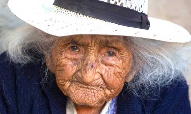 Meet Bolivia's nearly 118-year-old woman