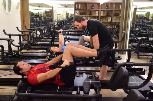 Strengthen your muscles with TRX and Megaformer