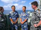 China joins Australia's largest maritime drill