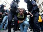 Hundreds arrested in Russia pension protests