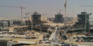 The heart of Expo 2020 Dubai is coming to life