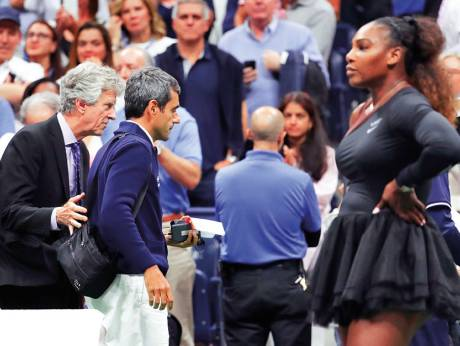 Serena umpire Ramos set for return in Davis Cup