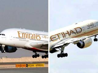 Emirates denies reports on Etihad takeover