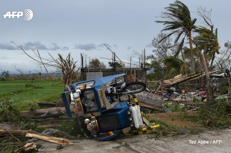 Typhoon Mangkhut leaves 25 dead in the Philippines and is on course to plough into China's coast.