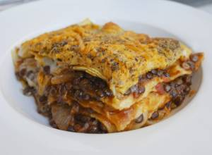Cooking With Mark: Puy lentil lasagne