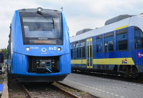 Germany rolls out first hydrogen train