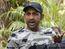 Sarfraz hits out at India playing only in Dubai