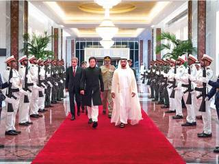 Mohammad Bin Zayed, Imran Khan hold talks