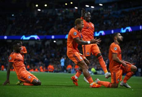 City stunned by Lyon in Champions League opener