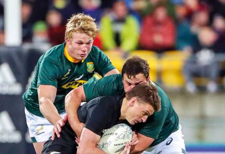 'Springbok defeat will inspire All Blacks'