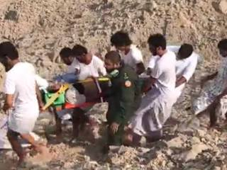 Video: Women falls off RAK mountain, dies