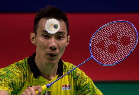 Lee Chong Wei in Taiwan for cancer treatment