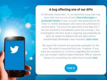 Twitter catches a bug that cannot keep secrets
