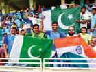 Supporters of the two countries enjoy the proceedings even as India and Pakistan battle it out in the Unimoni Asia Cup match.