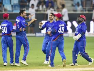 India, Afghanistan in thrilling Asia Cup tie