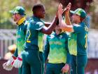 Proteas make heavy weather of small total